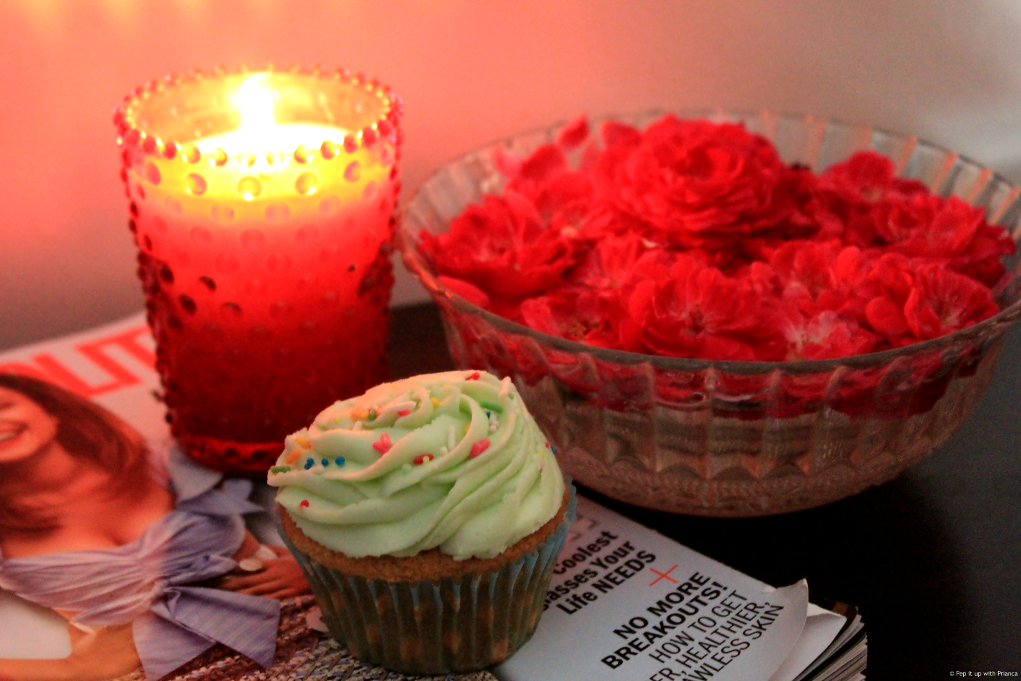 cupcake for pep it up with prianca - Learn the Recipe to Happiness - Bake Cute & Delicious Cupcakes for your Loved Ones