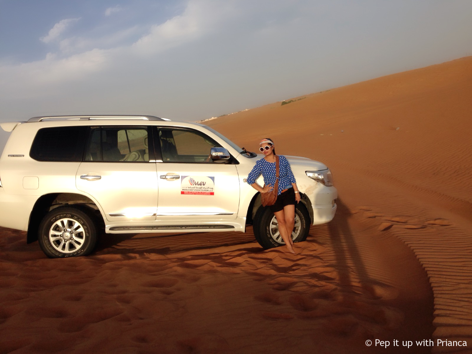 my ride to dubai desert pep it up with prianca - Travel to the Desert to 'Desert' Yourself & Find your Soul - Magnificent Dubai Desert