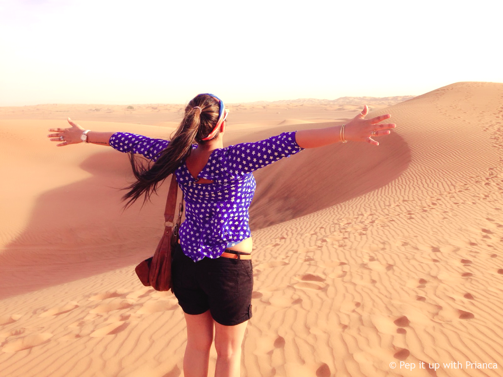 sunset dubai desert pep it up with prianca - Travel to the Desert to 'Desert' Yourself & Find your Soul - Magnificent Dubai Desert