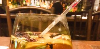 warm winter christmas drink toddy