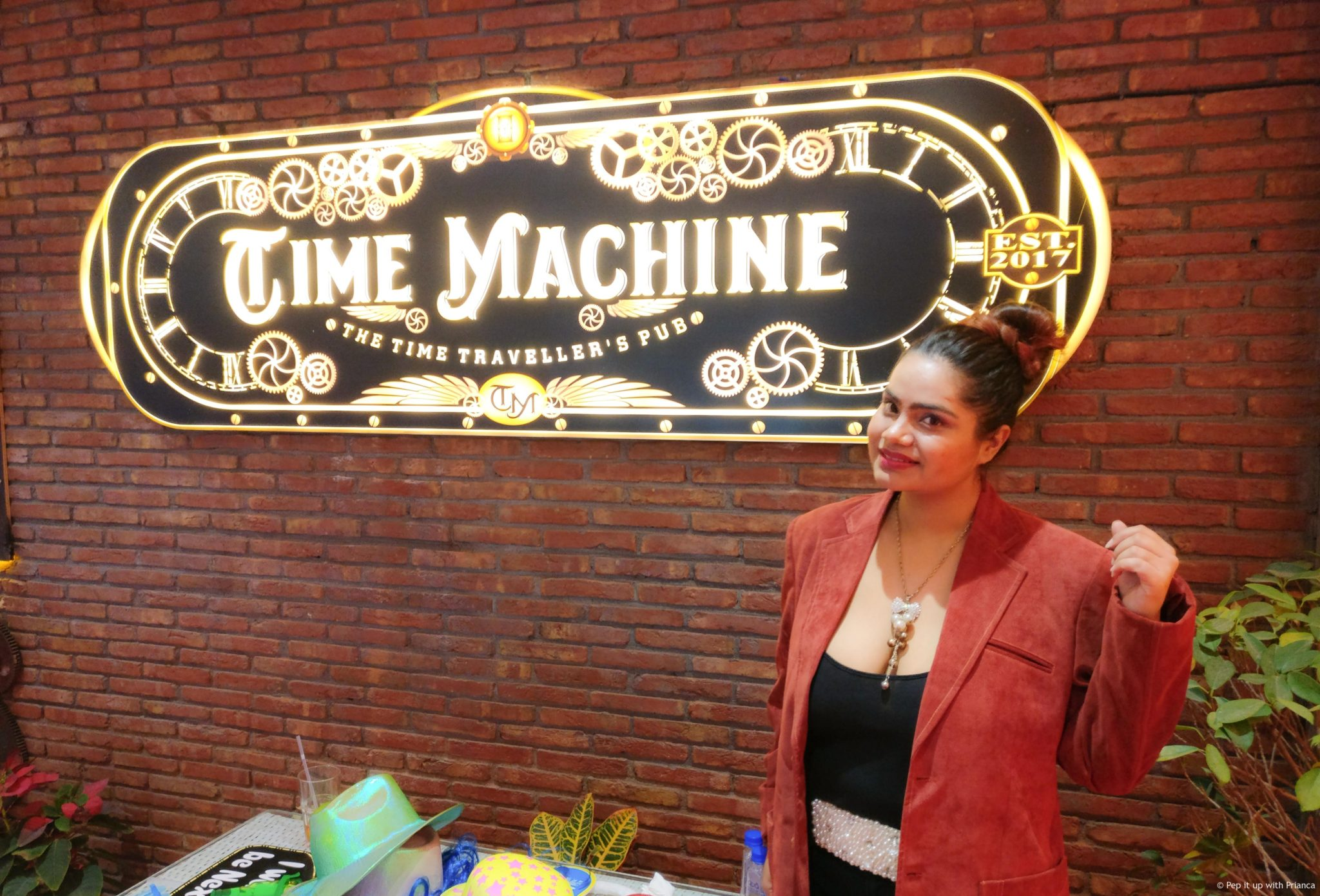 Time machine launch party