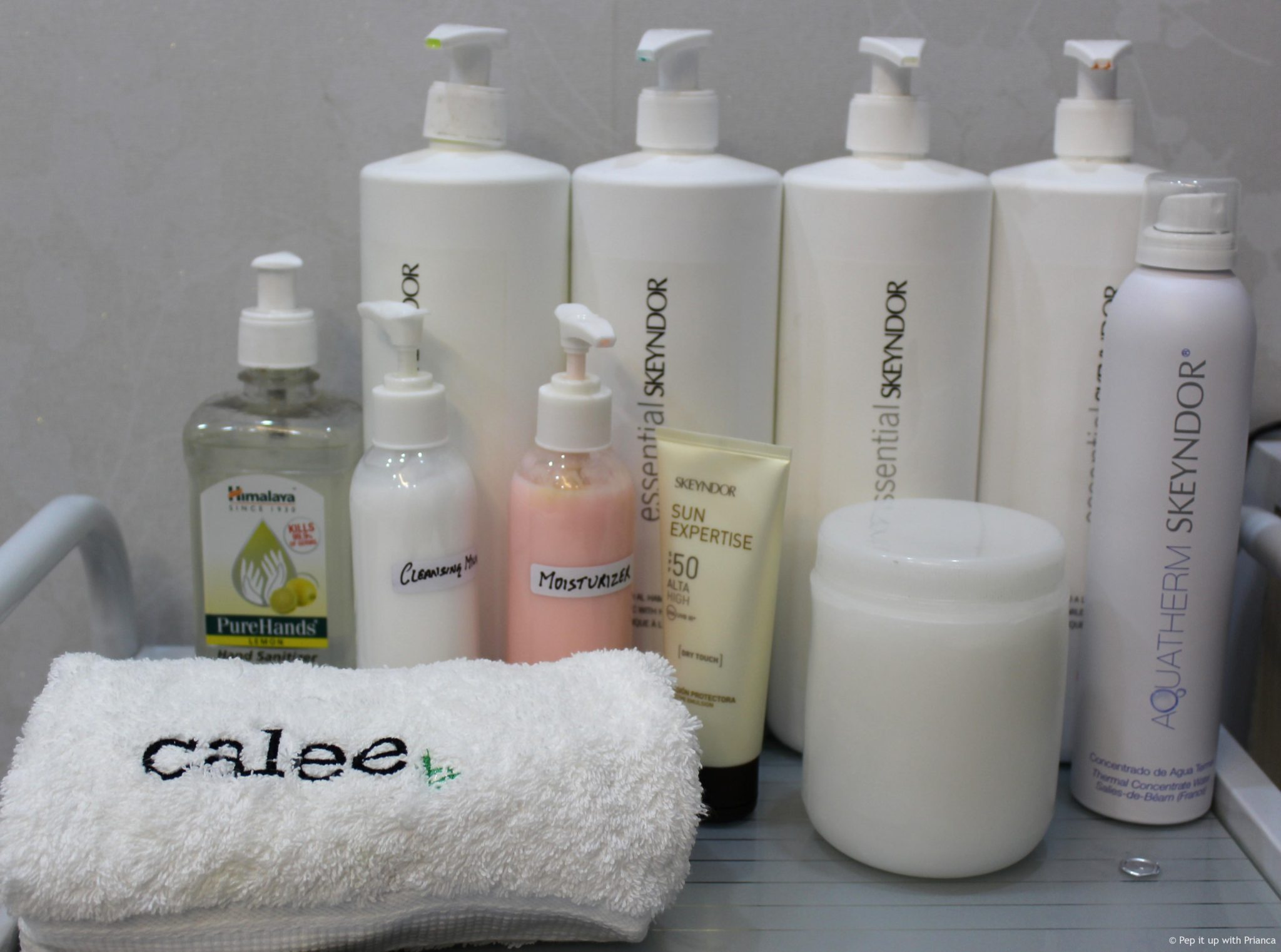 Calee offers skin care solutions