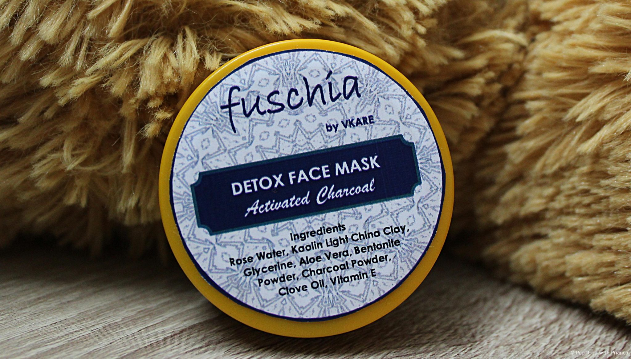 Fuschia face mask