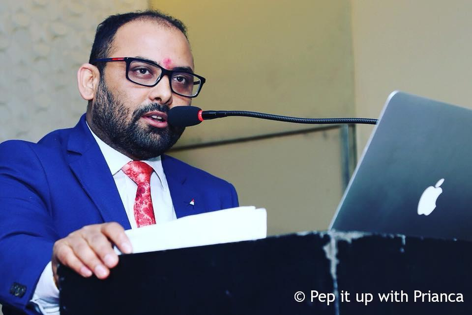 Dr. Prabhu Mishra - India's First Anti-Ageing Health Magazine 'ME' launched by the Stem Genn Group