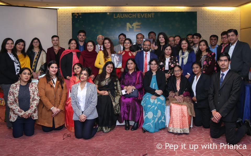 Doctors and the team of ME health magazine at The Park New Delhi