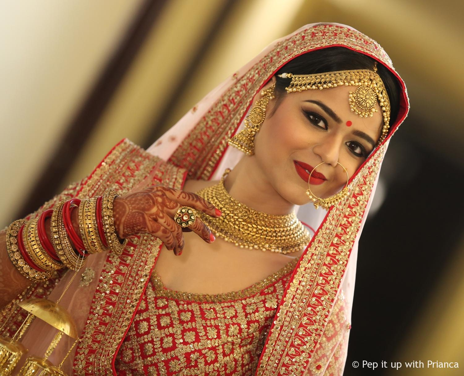 Bridal Makeup - Meet Tarun Kapoor : Best Celebrity and Professional Make-up artist in North India