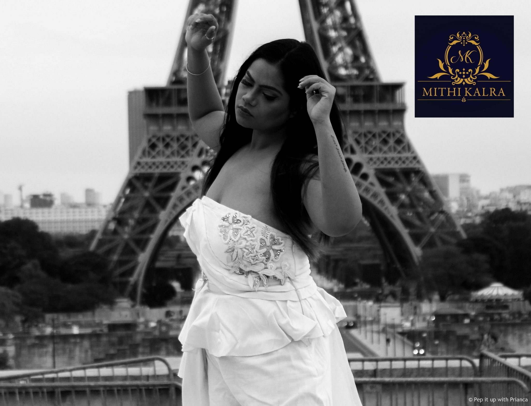 Mithi Kalra S 4 - Shooting in Paris for Mithi Kalra Label Ft. Moonlight Collection from India Runway Week
