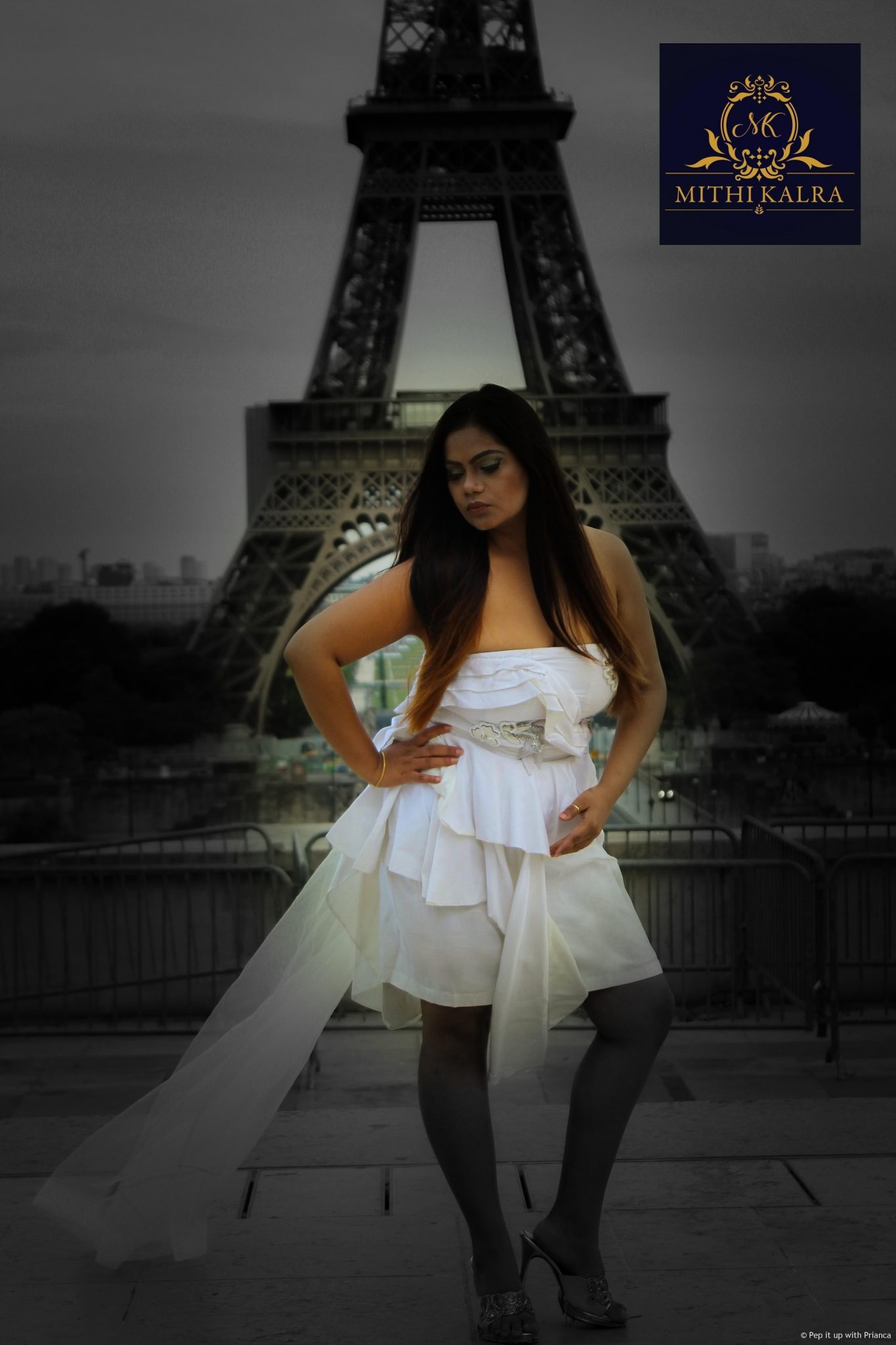 Mithi Kalra S3 - Shooting in Paris for Mithi Kalra Label Ft. Moonlight Collection from India Runway Week
