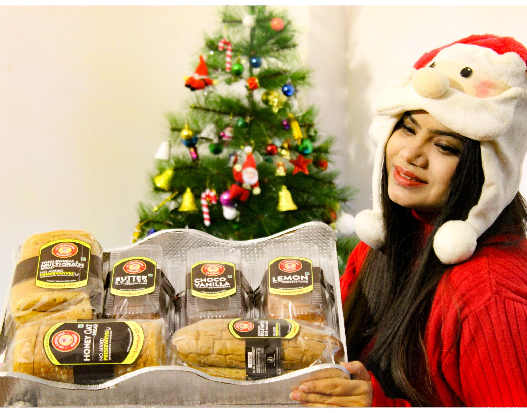 Best Christmas present - This Christmas Spread Joy and Gift the Basket of Health from La Americana Gourmet Range by Bonn India