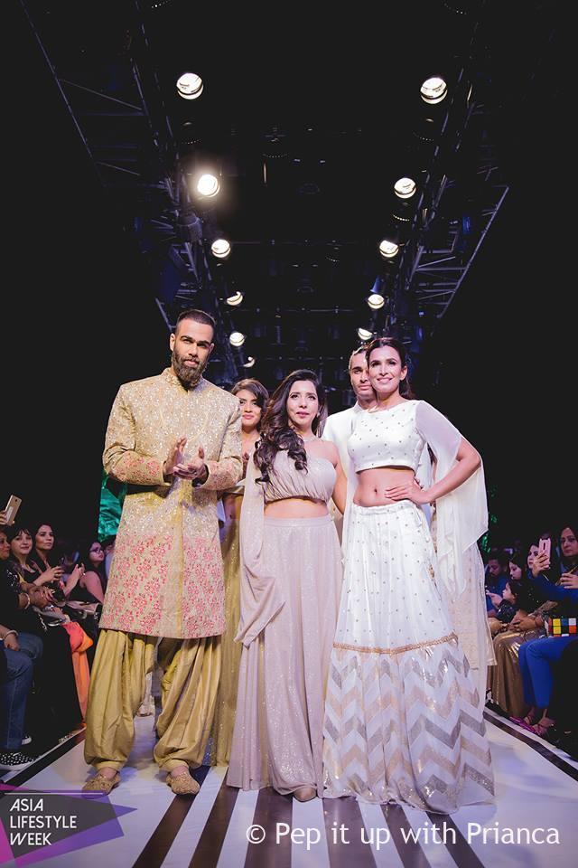 Designer @rosyahluwalia - Asia Lifestyle Week Introduces the New Age Fashion & Ethnically Rich Asian Styles