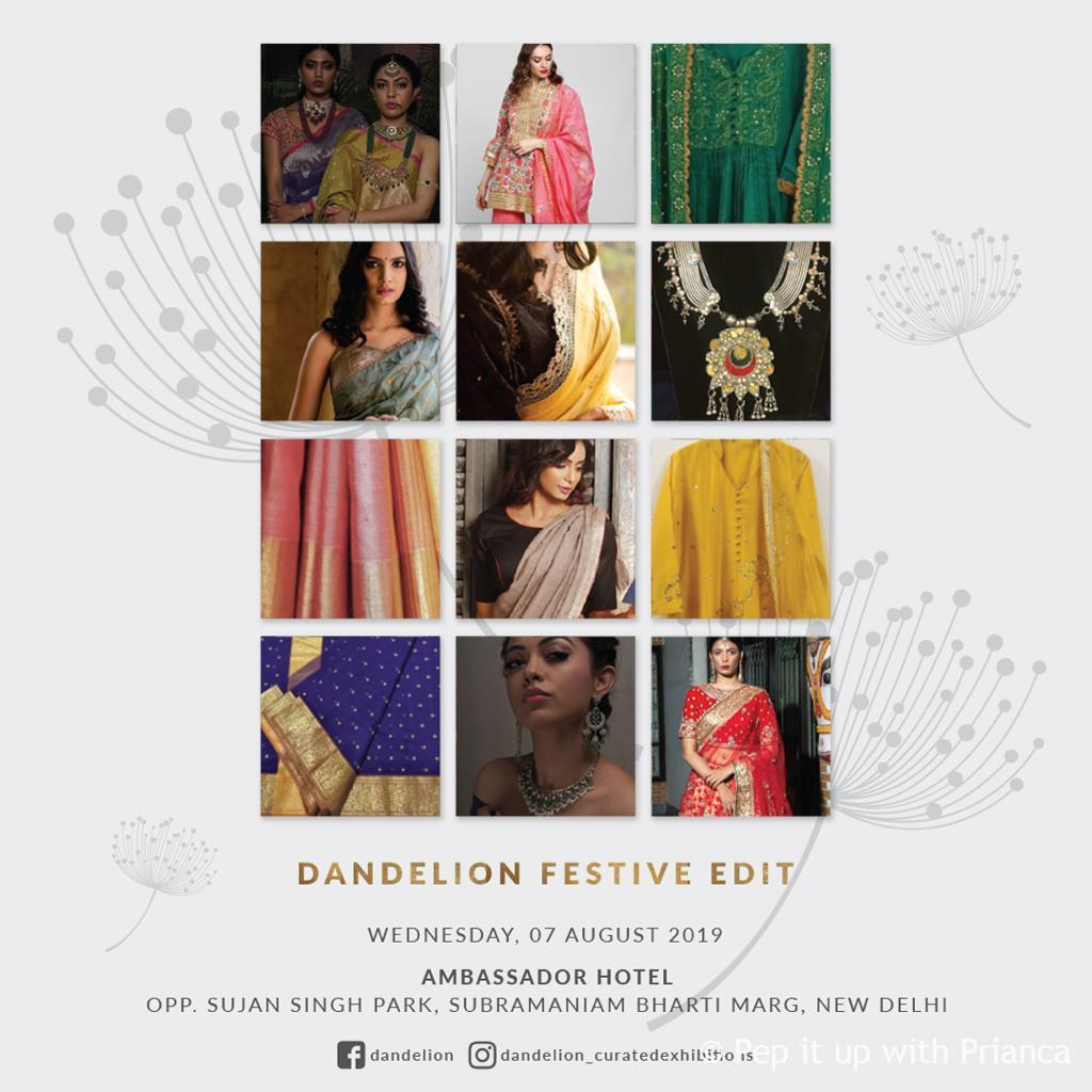 danelion exhibiton - Dandelion Curated Exhibition Festive Edit August 2019 - Time to Stock for the Season