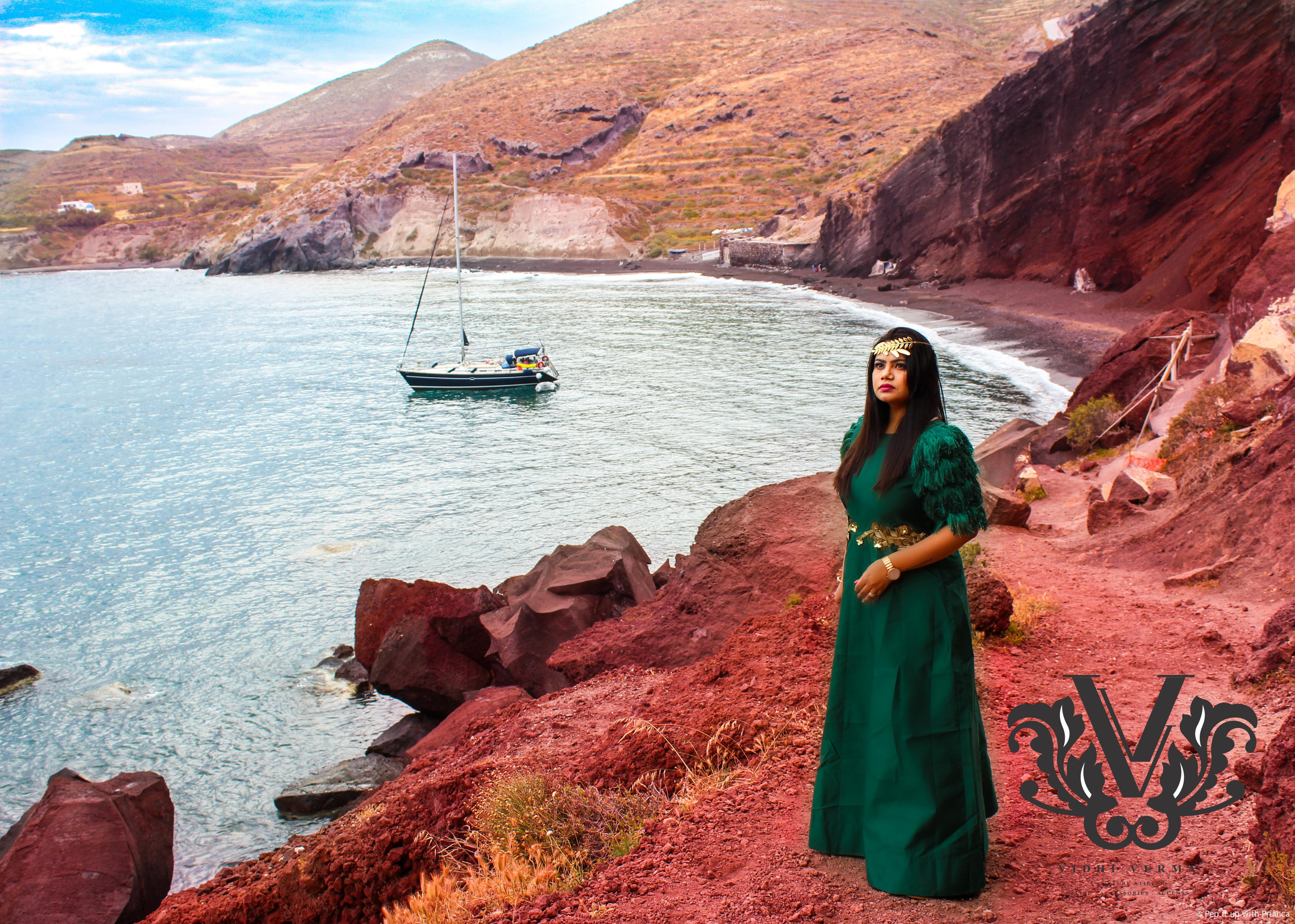 Greece red sea - Exclusive Interview with Celebrity Fashion Designer Vidhi Verma - Get Inspired from her Successful Journey